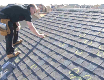 Roof Spot inspection