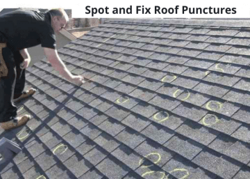 Spot and Fix Roof Punctures